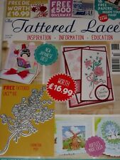 TATTERED LACE MAGAZINE #44 (INCLUDES FREE DIE) CARNATION POSY BOUQUET FOR CARDS