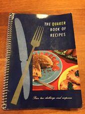 Vintage Recipe / Cookery Book – Quaker Oats – Retro – Great! –