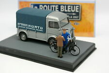 UH La Route Bleue N7 1/43 - Citroen Type H Velosolex