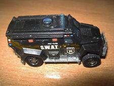 USED good Matchbox SWAT Truck 2011 black 1186MJ,1,NL,V0280 made in Thailand