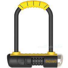 OnGuard Bulldog mini 8013c estribo castillo bicicleta cerradura de combinación fixie bike u-lock
