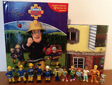 FIREMAN SAM MY BUSY BOOKS WITH 12 CHARACTER FIGURES AND A PLAYMAT BNIB