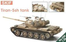 T-55 tiran - 5 SH (s) Tanque de batalla principal (israelí/IDF MKGS) 1/35 SKIF Raro