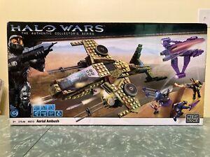 MEGA BLOKS HALO WARS AERIAL AMBUSH - FACTORY SEALED, BOX DAMAGED, 96810