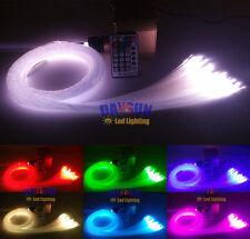 RGBW CREE Twinkle LED Fiber Optic Star Ceiling 16W Lights 200pcs 0.75mm 5m Fiber