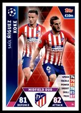 Match Attax Champions League 2018/19 Ñíguez/Athletico Madrid Midfield Duo No.36