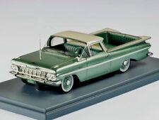 wonderful modelcar Chevrolet El Camino Pick-Up 1959 -green metallic- ltd.ed.300