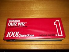 Vintage 1980 Coleco Quiz Wiz - The Computer Question & Answer Game - #1 - Works!