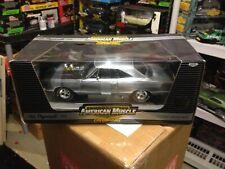 """ERTL 1969 PLYMOUTH GTX CHROME /BLACK """"CHASE CAR"""" 1/416 1/18 :DIECAST  #39221"""