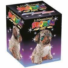 KSG Sequin Art 3D Pug