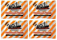 Fisherman s Friend Spicy Mandarin Flavour Lozenge Sugar Free 4 Pack