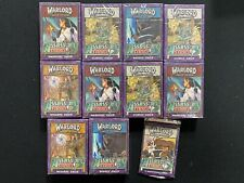 Warlord Saga of the Storm Assassin's Strike x1 Booster Pack & x10 Deck Lot