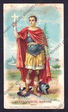 SANT'ESPEDITO 04 SANTINO IMMAGINETTA HOLY CARD IMAGE PIEUSE - TORINO