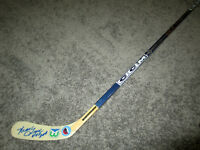 MARK HOWE Hartford Whalers Autograph SIGNED Hockey Stick w/ COA Hall of Fame
