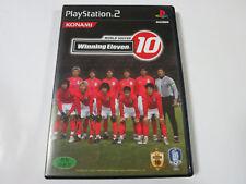 Winning Eleven 10 World Soccer Korean PlayStation 2 PS2 no big manual