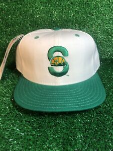 VTG SEATTLE SUPERSONICS NEW ERA 59FIFTY FITTED CAP HAT NBA NEW W TAGS SIZE 7 1/2