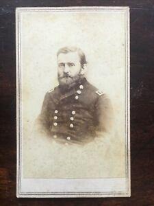 CIVIL WAR CDV General Ulysses S Grant  4 REPRODUCTION COLLECTIBLE
