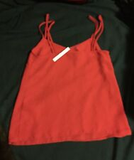 BNWT GORGEOUS AUTHENTIC ASOS DESIGNER WOMENS TOP RED PAID $49.95 ❤️