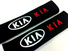 2pcs NEW Sport LOGO Cotton Seat Belt Cover Shoulder Pad Cushion For KIA