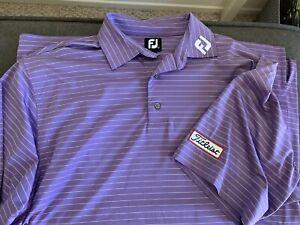 Very Nice FootJoy Shirt with Titleist Logo Sz Large