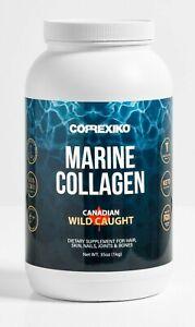 CORREXIKO Marine Collagen Peptide Powder 100 Day Pack 1kg 2.2lb Wild Caught Fish
