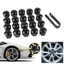 20x 19mm Black Car Wheel Lug Bolt Nut Cover Cap Puller For Ford Focus Explorer