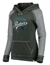 9a98d592d Majestic Women's Carolina Panthers NFL Football Hyper Hoodie Sweatshirt  Medium M