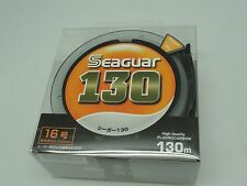 SEAGUAR 100% FLUOROCARBON Japan # 16 KUREHA LINE U.S 60 lb 130m/143yds new stock