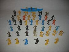 MPC Multiple Products Corp. 47 Plastic African Zulu Warriors (60mm) & Canoe