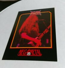 Nuclear Assault Megametal Heavy Metal Speed Thrash Trading Card John Connelly