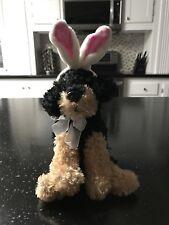 Dan Dee Stuffed Animal Dog With Bunny Ears
