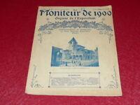 [REVUE EXPOSITION UNIVERSELLE 1900] LE MONITEUR DE 1900 N° 14 # MAI 1900