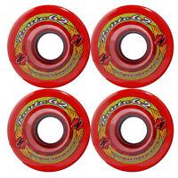 KRYPTONICS ROUTE 62MM 78A RED Longboard Cruiser Skateboard Wheels