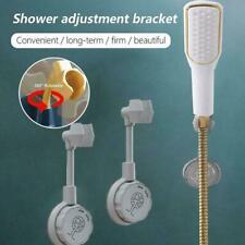 360° Punch-Free Universal Adjustable Shower Bracket Head Bathroom Holders 2021
