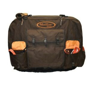 """Mud River Dixie Kennel Cover, Brown, Large 36″ x 26″ x 26"""""""