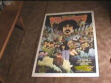 TWO HUNDRED 200 MOTELS 1971 ORIG MOVIE POSTER FRANK ZAPPA