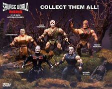 Savage World Freddy Krueger LeatherFace Jason Voorhees Michael Myers Pinhead
