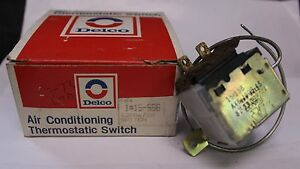 NOS Delco 12306780 Air Conditioning Thermostatic Switch 1969 1972 LTD (426)