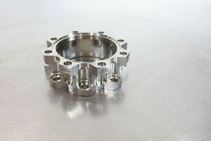 "Kimball Physics 4.5"" CF Vacuum Close Coupler MCF450-ClsCplr-E2 // Stainless"