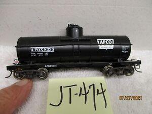 JT-474 PROTO 2000 Single Dome Tank Car Apco Petroleum Products 8335