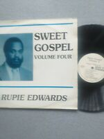 Rare RUPIE EDWARDS SWEET GOSPEL REGGAE LP  VINYL  VGC 1980s
