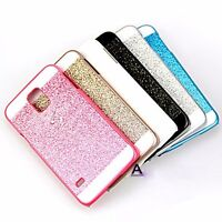 Luxury Bling Glitter Hard Back Case Cover Skin For Samsung Galaxy S3/4/5 Note 4
