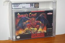 Demon's Crest (Super Nintendo SNES) NEW SEALED V-SEAM MINT GOLD VGA 90! RARE GEM