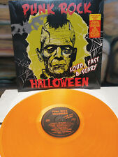 PUNK ROCK HALLOWEEN Loud Fast & Scary LP UK Subs 999 ANL Dwarves Adolescents JFA