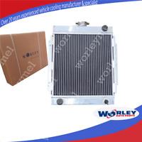 QLD GPI 3 core aluminum radiator for DATSUN 1200 Manual 1970-1976