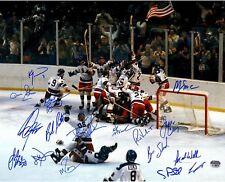 1980 US Hockey Team Signed Autographed 8x10 Photo (RP)