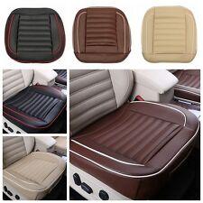 50x50cm PU Leather Car Cushion Seat Chair Cover Black/Beige/Coffee Auto Interior
