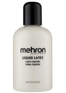 Mehron Makeup Liquid Latex (4.5 oz) (Clear), Costume Makeup, Vegan, Cruelty Free