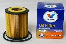 VALVOLINE V052 Oil Filter Interchanges With (RYCO R2591P) HOLDEN ASTRA, VECTRA