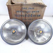 "NOS Trippe Fog Beam Safety Light 7"" Headlight Packard Cadillac Auburn Buick TFB1"